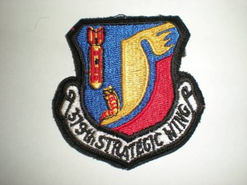 USAF 376TH BOMB WING ERROR PATCH -COLORAir Force - 66528