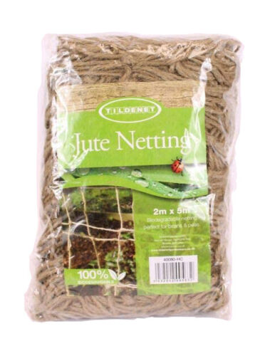 Pea and Bean Natural Jute Netting Biodegradable Strong Climbing Plants