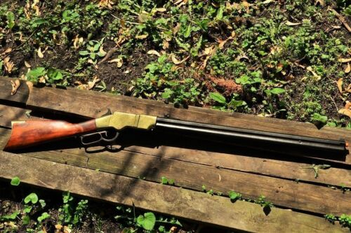 1860 Henry Lever Action Repeating Rifle - Civil War - Non-Firing Denix ReplicaReproductions - 156384