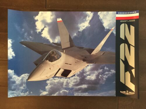 Glossy IN COLOR Aircraft poster- circa 1990sReproductions - 156452