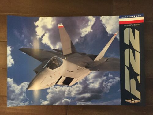 Glossy IN COLOR Lockheed-Boeing General Dynamics Aircraft Poster- circa 1990sReproductions - 156452