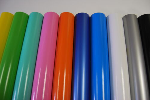 Gloss Vinyl Wrap Car (Air/Bubble Free) All Colours multi Sizes  <br/> 10 colours, 3 Layers The Best quality