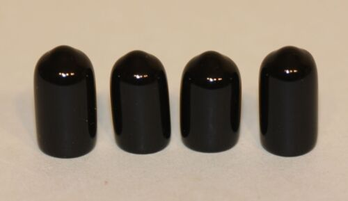 4 Rubber Feet / Caps for Longaberger Wrought Iron Table Top Stands Racks Servers