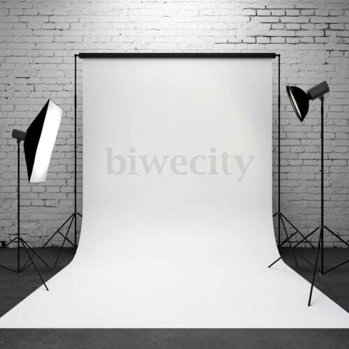 3x5FT Vinyl Pure White Photography Background For Studio Backdrop Photo Props