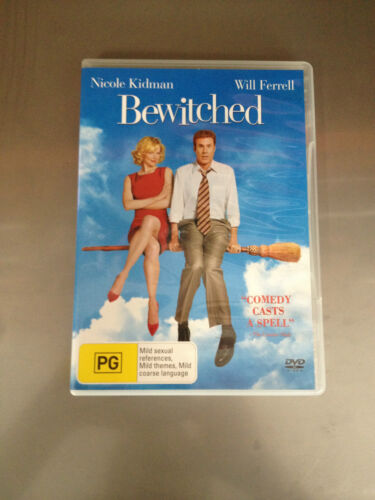 BEWITCHED  -  DVD  -  Nicole Kidman, Will Ferrell