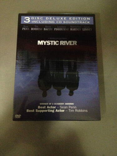 MYSTIC RIVER-DVD- Kevin Bacon (3 DISC DELUXE EDITION INCLUDING CD SOUNDTRACK)