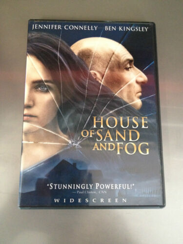 HOUSE OF SAND AND FOG  -  DVD  -  Jennifer Conelly, Ben Kingsley