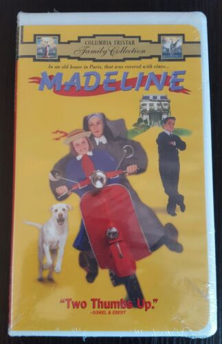 New MADELINE Columbia Tristar VHS Video Tape 2460 Two Thumbs Up