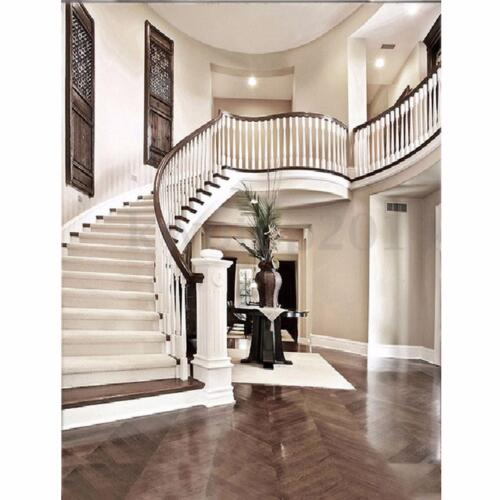 5X7FT European House Staircase Vinyl Photography Backdrop Photo Background Props