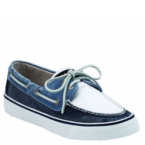 Ladies Sperry Top-Sider Bahama Navy / White Deck / Boat Shoes