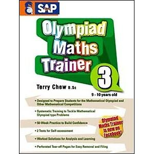 MATHS OLYMPIAD TRAINER Workbook Year 3, Numbers, Singapore series, FREE Shipping