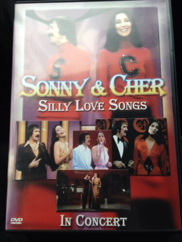 Sonny & And Cher - Silly Love Songs, In Concert DVD, Like New, All Region