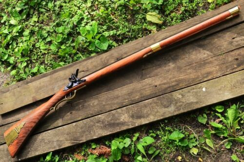 Kentucky Flintlock Rifle - Musket - Revolutionary War - Colonial - Denix ReplicaReenactment & Reproductions - 156378