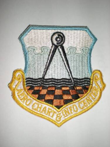USAF AERO CHART & INFORMATION CENTER PATCH - COLORAir Force - 66528
