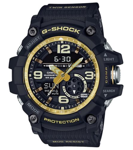 Casio G-Shock * Mudmaster GG1000GB-1A Vintage Black & Gold Watch COD PayPal <br/> SPECIAL OFFER! Nationwide COD Free Ship Meet Up PayPal
