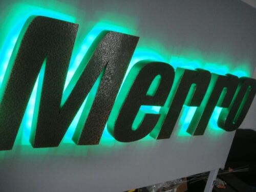 customized led sign letters wall logos signage channel letters outdoor sign 12''