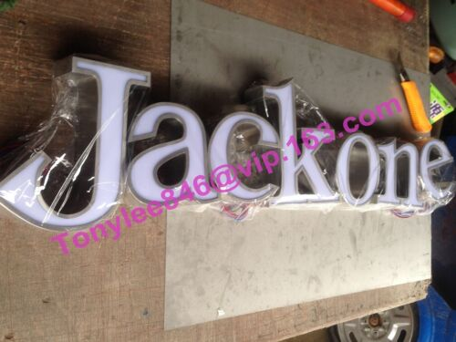 customized lighting sign letters business logos signage channel letters,12inches
