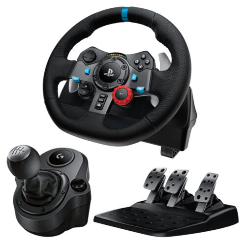 Logitech G29 Driving Force Racing Wheel for PS4 / PC + Driving Force Shifter NEW