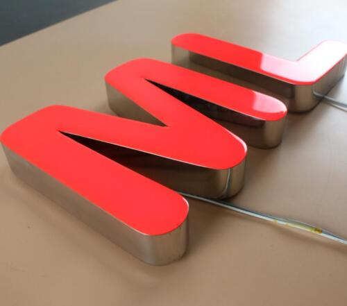 NEW Custom size Channel Letter Sign Signboard Signage epoxy resin letter sign