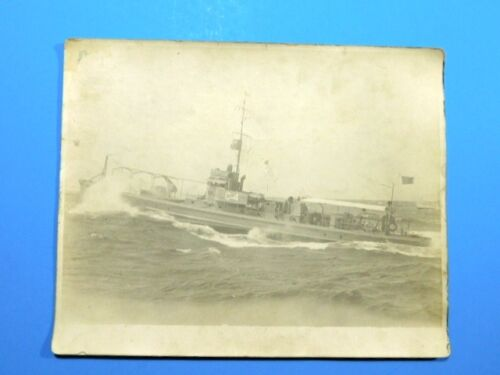 """C-4 Millitary Boat Photograph Navy? Vintage 8"""" x 10"""" San DiegoOther Militaria - 135"""