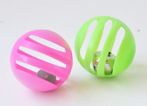 Balls with Bells Cat Toys - Set of 6