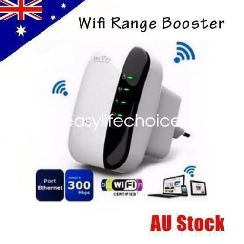 300Mbps Wireless N 802.11 Wifi Repeater AP Range Booster Router Extender Point