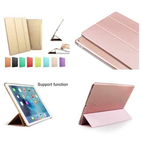 Smart Magnetic Stand Case Cover for Apple iPad 3 Air 2 Mini 4 Pro 9.7 Rose gold