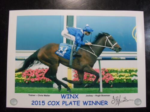WINX 2015 & 2016 & 2017 & 2018 Cox Plate signed Prints