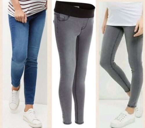 Grey or Blue New Look Maternity Under bump Jeggings Skinny jeans 10-18. BNWT
