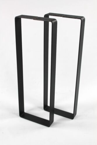 Industrial Sofa/Console Table Legs Heavy Duty DIY Powdercoated Steel Salvage