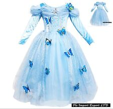 8097795661d0 Cenerentola Vestito Carnevale Cinderella Cosplay Costume Dress 567006LS - SD