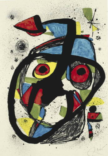 Joan Miro Carota Giclee Canvas Print Paintings Poster Reproduction Copy