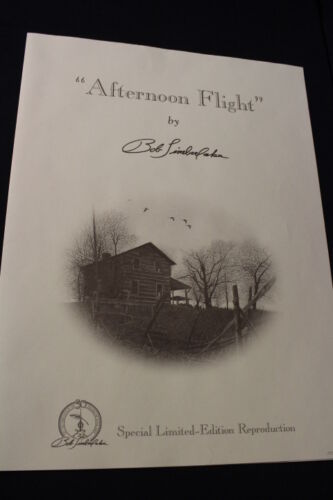 """Bob Timberlake Limited Edition Print """"Afternoon Flight"""" Orignal Packaging #3957"""