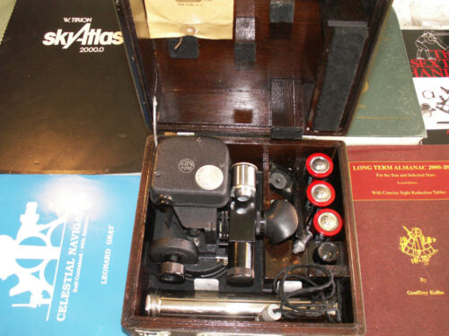 A-10A Aircraft Bubble Sextant - 100% Reconditioned And Ready For Use