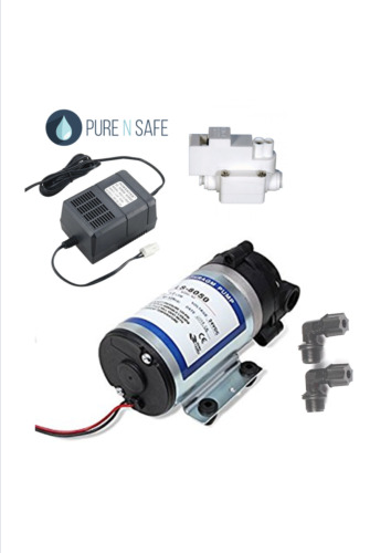 24v RO Reverse Osmosis Booster Pump, Transformer & Pressure Switch