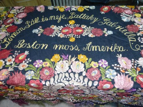 Antique Hand Embroidered, Dowry, Marriage , Wall Hanging/Tapestry.