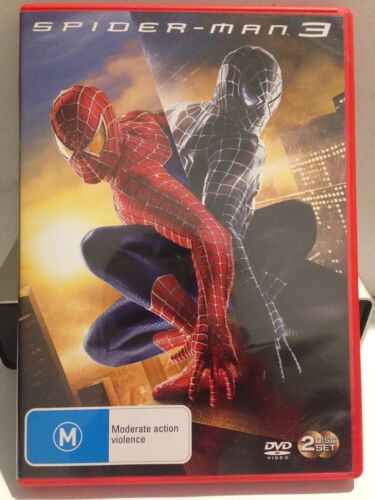 SPIDER-MAN 3 ( 2 DISC SET) (R4 - LIKE NEW) - DVD #187
