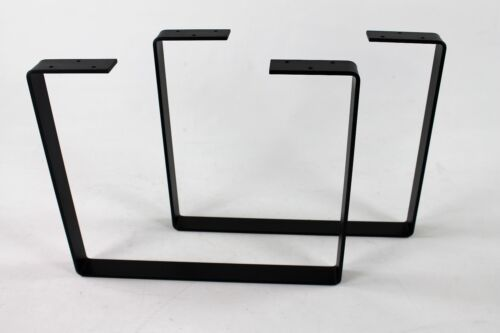 Industrial Metal Coffee Table Legs Powdercoated Steel Modern DIY Iron Salvage