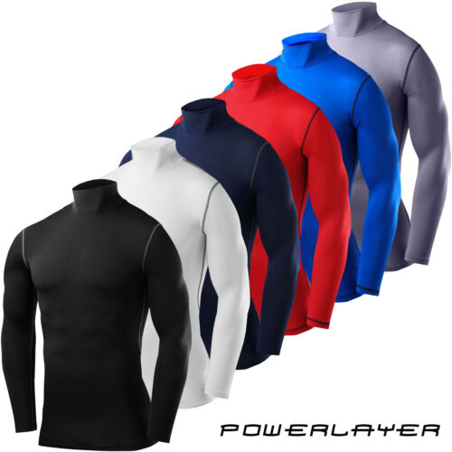 TCA Mens Boys Body Armour Compression Baselayer Powerlayer Shirt Mock Neck <br/> ✓ Free Delivery ✓ Fast Shipping ✓ Easy Returns