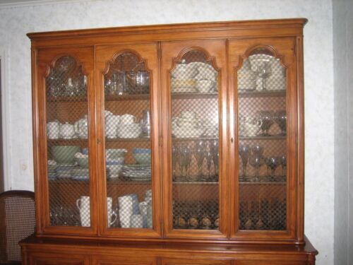 AMERICAN MID-CENTURY MODERN TOMLINSON BREAKFRONT/CHINA CABINET