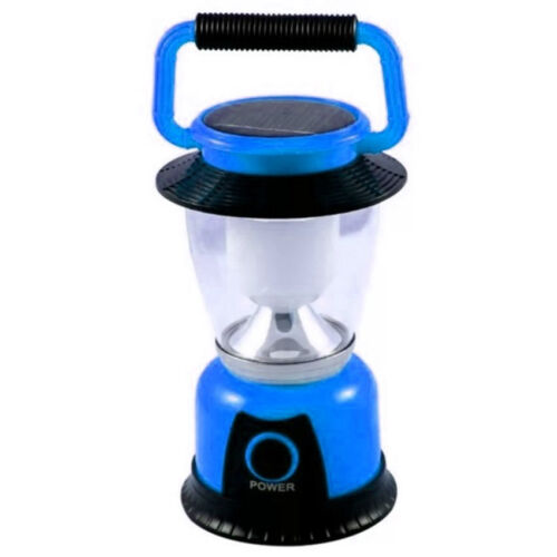 GSH-T6055 Rechargeable Solar LED Camping Lantern (Blue) <br/> Paypal Accepted✔Same Business Day*Dispatch✔Powerseller✔