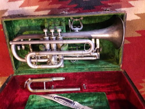 Lyon and Healy American Professional Cornet.   Extra Slides for  C - Bb - A!