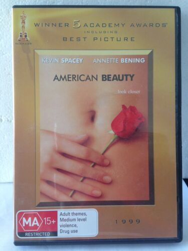 AMERICAN BEAUTY...LOOK CLOSER - KEVIN SPACEY (R4-PAL-LIKE NEW) - DVD #623
