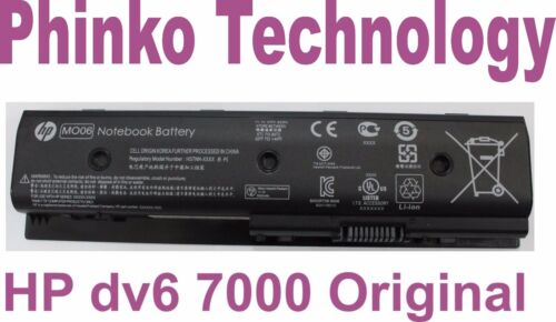 Original Battery For HP Pavilion DV4-5000 DV6-7000 DV7-7000 HSTNN-LB3P LB3N MO06
