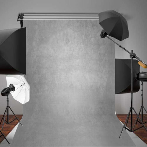 5x7ft Gradient Gray Photography Vinyl Portrait Background Studio Backdrop Props