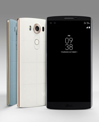 "New Unlocked LG V10 H900 (AT&T) 64GB 4G LTE 5.7"" 16MP GSM Smartphone"