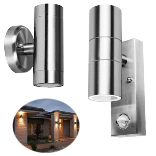 Dual Up / Down Outdoor Security Porch Outside Wall Door House Garden Twin Lights