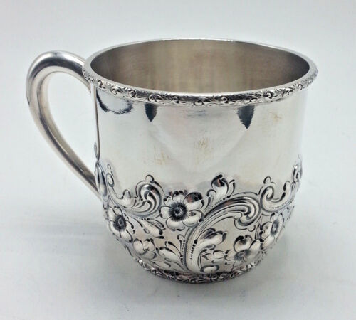 Large Heavy Dominick and Haff Sterling Childs Cup