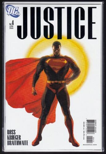 JUSTICE #4 - 2006 - DC, VARIANT Edition