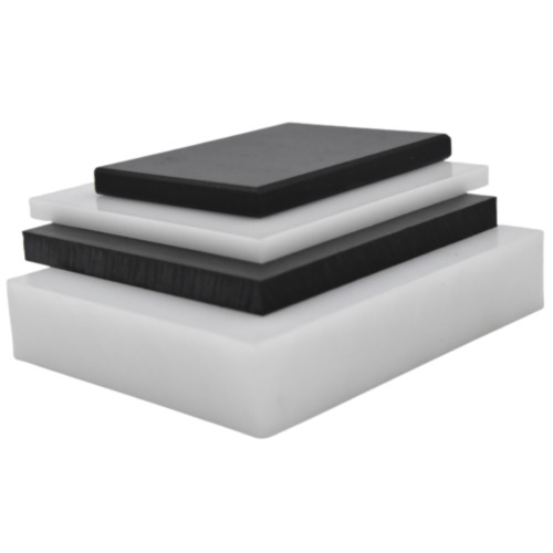 BLACK & WHITE HDPE SHEETS / PANELS - SELECT SIZE - FREE TRACKED SHIPPING!
